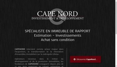 Site internet de Cape Nord