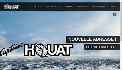 Site internet de Capitaine Houat