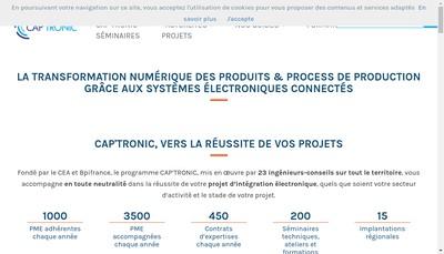 Site internet de Captronic