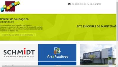 Site internet de Capveil Assurances Placements