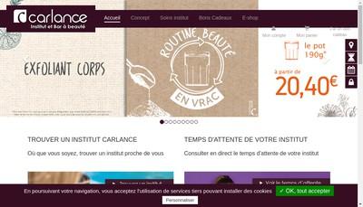Site internet de Carlance