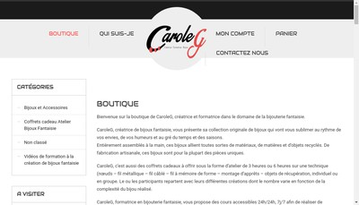 Site internet de Caroleg
