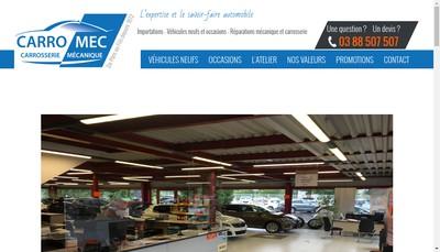 Site internet de Le Pavillon de l'Auto