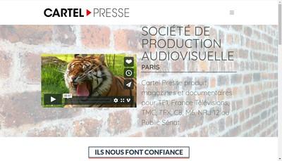 Site internet de Cartel Doc - Cartel Air - Cartel Corporate