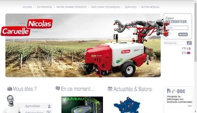 Site internet de Nicolas Sprayers