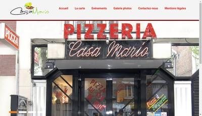 Site internet de Casa Mario