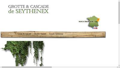 Site internet de Grotte et Cascade de Seythenex