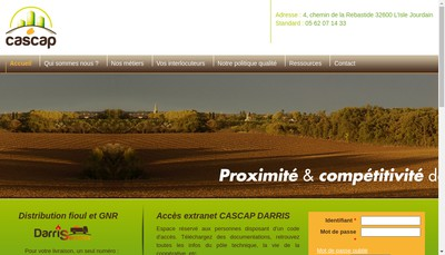 Site internet de Darris Services