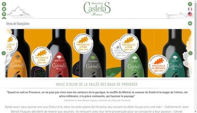 Site internet de Moulin Castelas