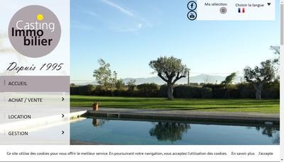 Site internet de Casting Immobilier