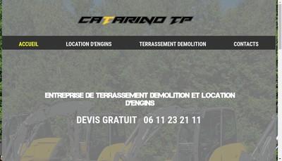 Site internet de Catarino Tp