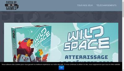 Site internet de Catch Up Games
