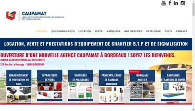 Site internet de Caupamat