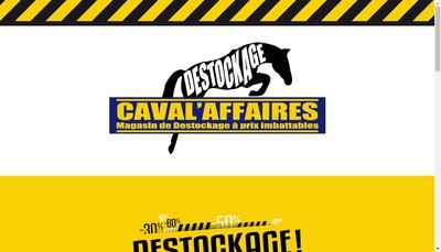 Site internet de Caval'Affaires