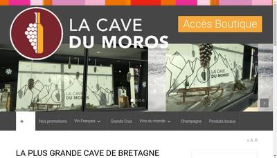 Site internet de La Cave du Moros