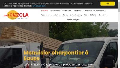 Site internet de Cazzola