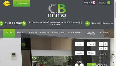 Site internet de Cb Immo