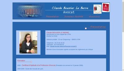 Site internet de Claude Bouvier