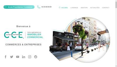 Site internet de Cce