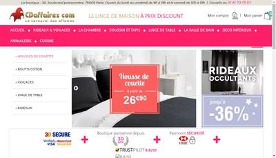 Site internet de Carnaval des Affaires