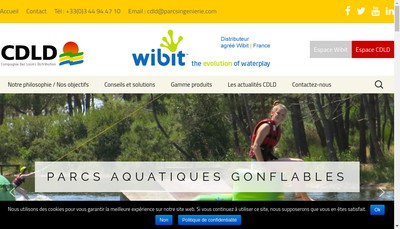 Site internet de CDLD