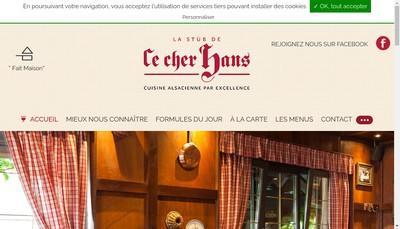 Site internet de Ce Cher Hans - Centr'Achats