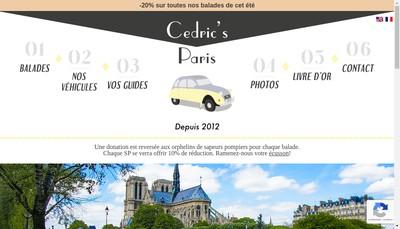 Site internet de Cedric Lapous