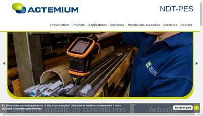 Site internet de Actemium