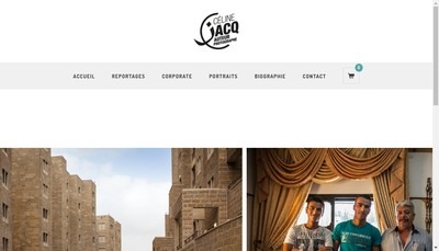 Site internet de Celine Jacq