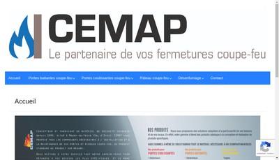 Site internet de Cemap