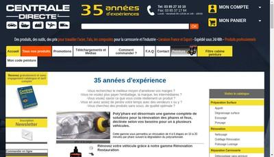 Site internet de Centrale du Carrossier