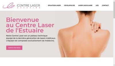 Site internet de Centre Laser de l'Estuaire