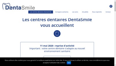 Site internet de Dentasmile