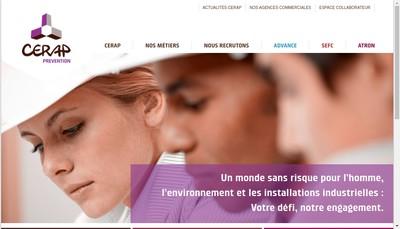 Site internet de Cerap Advance