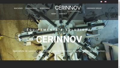 Site internet de Cerinnov