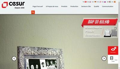 Site internet de Cesur