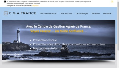 Site internet de Centre de Gestion Agree de France