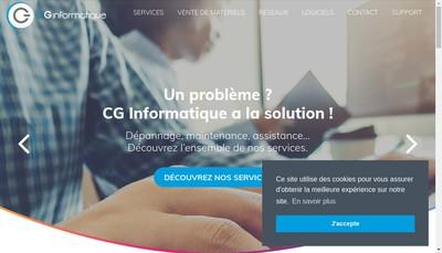 Site internet de Sce Informatique Midi Pyrenees Aquitaine