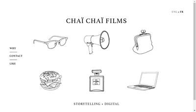 Site internet de Chai Chai Films