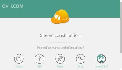 Site internet de SARL Chalets Daniel Lacroix