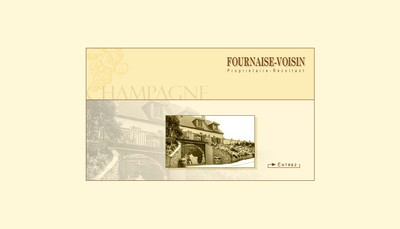 Site internet de Champagne Fournaise Voisin