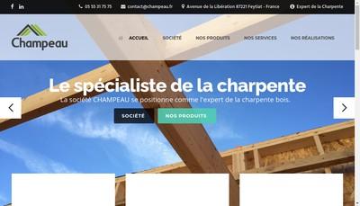 Site internet de Champeau