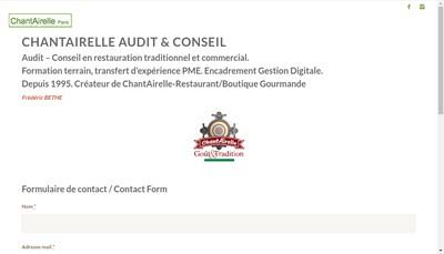 Site internet de Chantairelle
