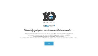 Site internet de Chapristi