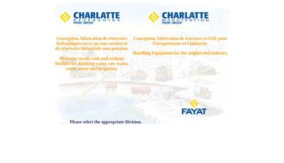 Site internet de Charlatte Manutention