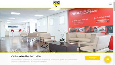 Site internet de Charles Pozzi