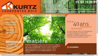 Site internet de Kurtz Claude SAS
