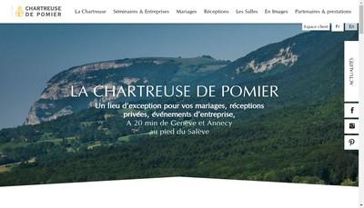 Site internet de Chartreuse de Pomier