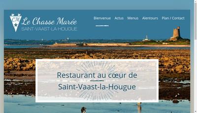 Site internet de SARL le Chasse Maree