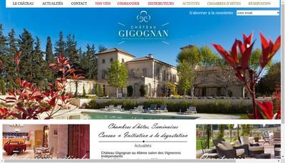 Site internet de Wine Castle